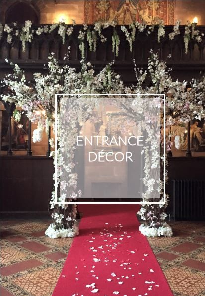 wedding entrance and arch ideas